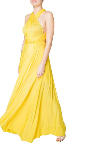 yellow multiway dress