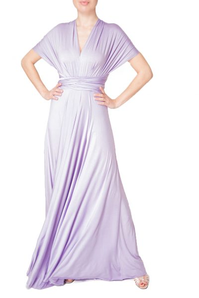 lavender multiway dress
