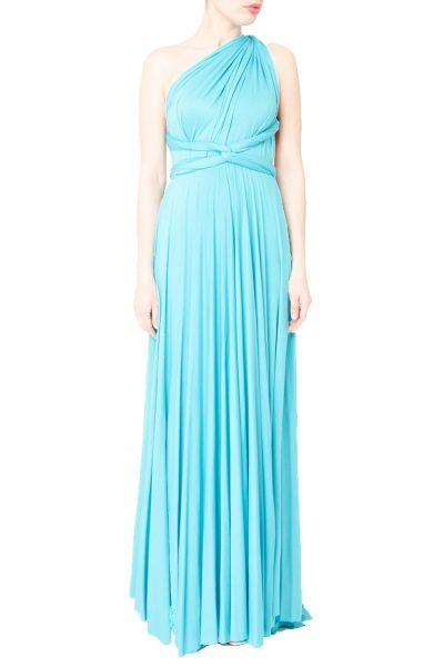 blue multiway maxi dress