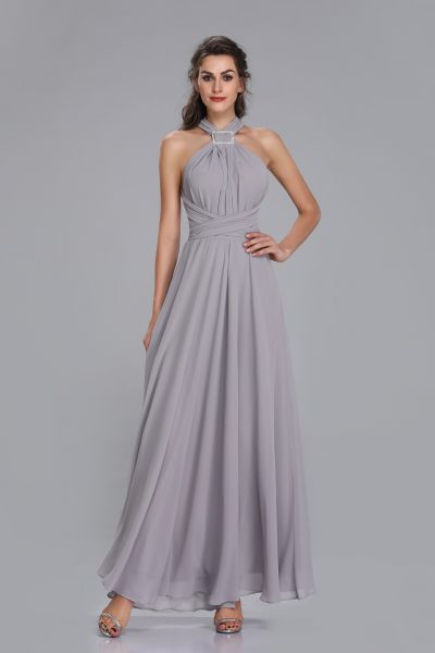 dove grey maxi multiway bridesmaid dress