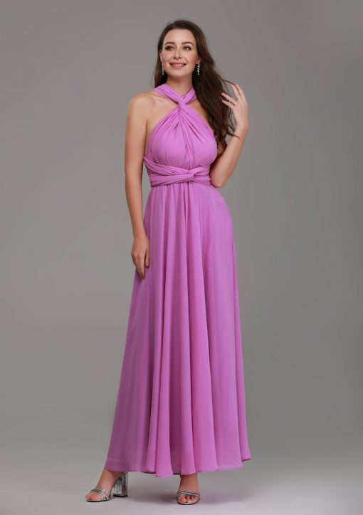 mauve purple bridesmaid dresses