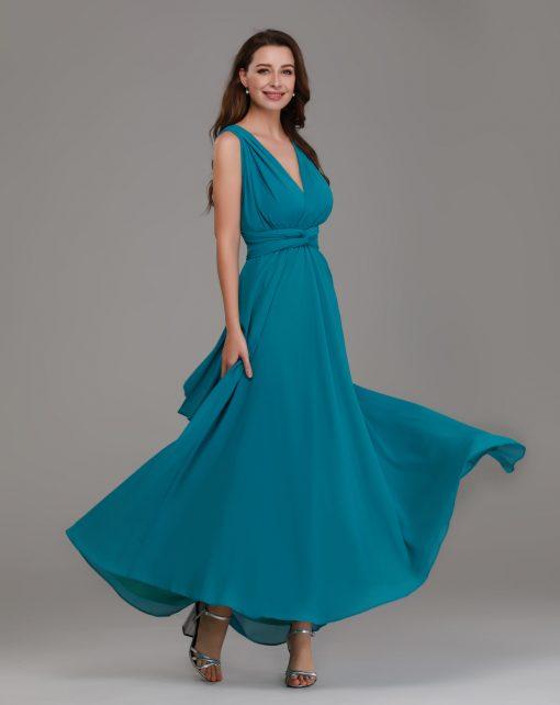 teal multiway maxi dresses
