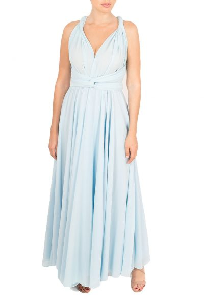 light blue multiway dress