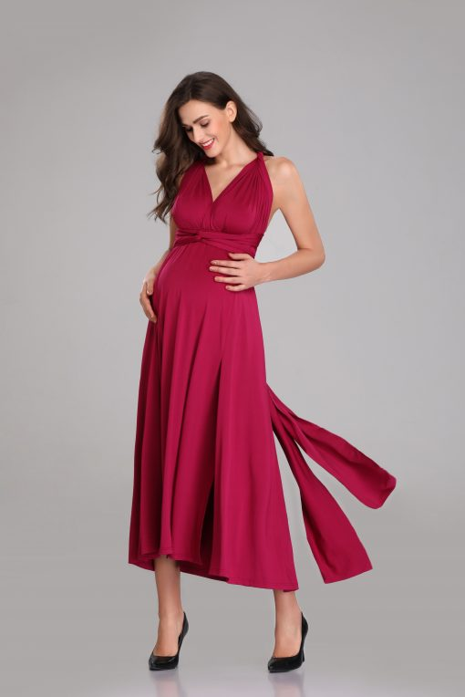 Maternity Empire Line Jersey Maxi Dress