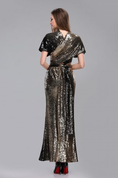 SEQUIN MERMAID MAXI DRESS