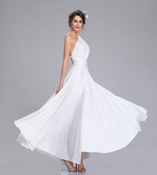 Bridget A Line Jersey Gown