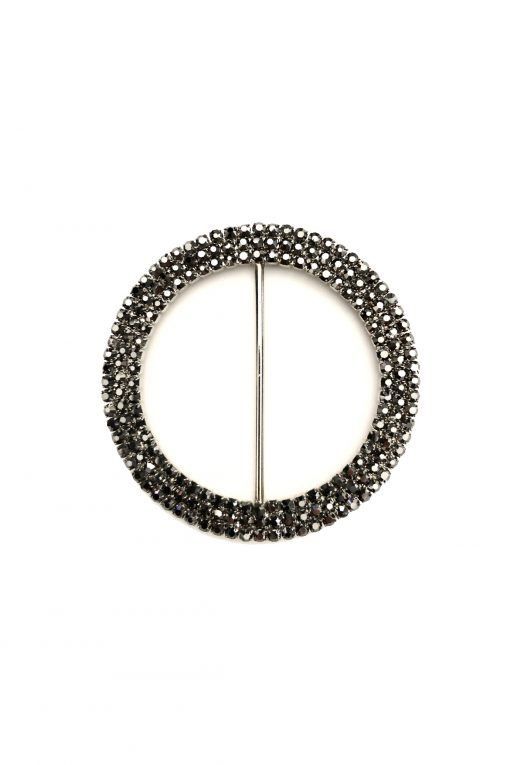 Large circle black