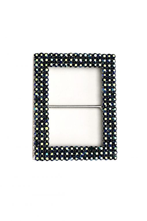 Blue rectangle buckle