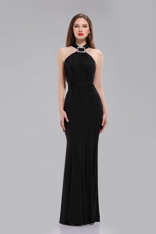 Audrey Black Long Multiway Dress